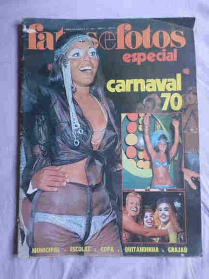 Fatos E Fotos Especial * Carnaval 70