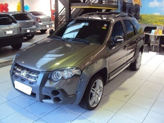 Fiat Palio Weekend 1.8 Adventure Locker Cinza Flex 4p Manual