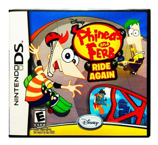 Phineas And Ferb Ride Again Nuevo - Nintendo Ds 2ds & 3ds