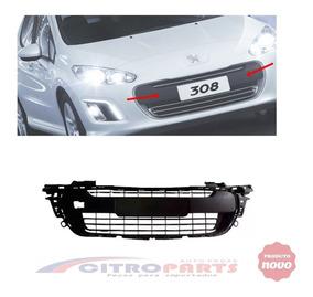 Grade Moldura Parachoque Dianteiro Peugeot 308 12/15