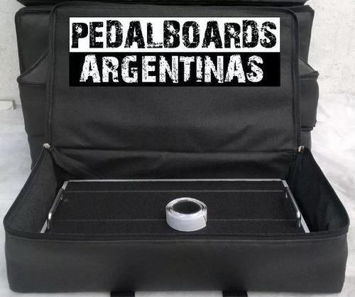 Pedalboard - Plataforma De Fx Pedales 75x31 Cm Estuche Cuota