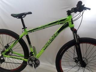 Bicicleta Mtb R29 Moove Alum Bloqueo Shimano Disc Trp Bikes