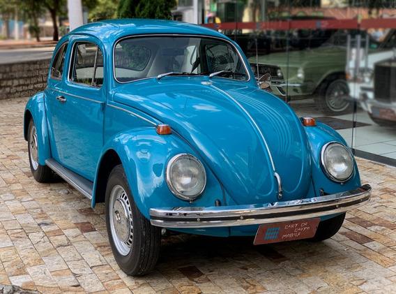 Volkswagen Fusca 1500 - 1972 (azul Pavao)