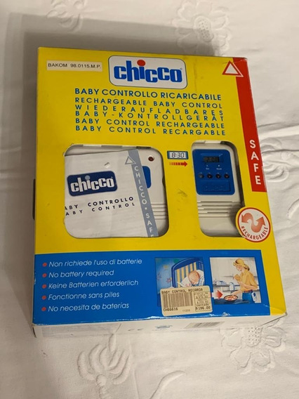Baby Call Chicco 2 Canales (caja Completa, Italiano)