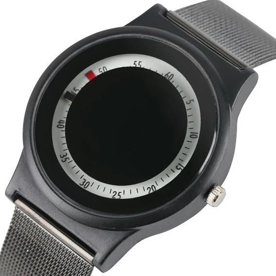 Relógio Quartzo De Moda Inovativa Sport Pulseira De Aço