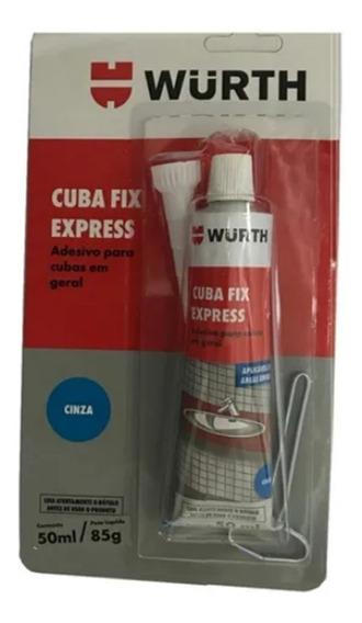 Cola Cuba Fixa Pia Granito Marmore Porcelana Plastico Wurth