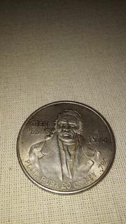 Moneda Cien Pesos 1978 Morelos Plata Pura