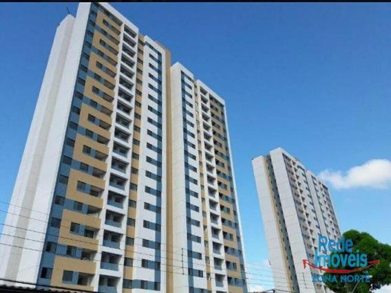 Apartamento Com 2 Dormitórios Para Alugar, 56 M² Por R$ 1.650,00/mês - Iputinga - Recife/pe - Ap10235