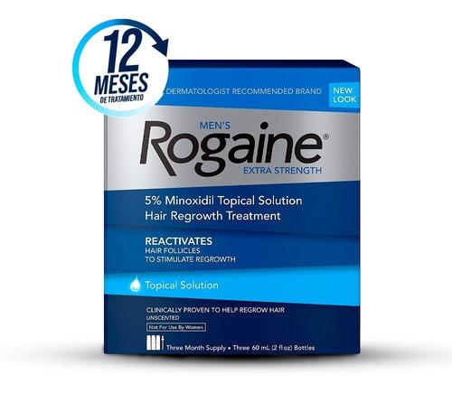 Men´s Rogaine 5% Tópico Tratamiento Para 12 Meses _shops