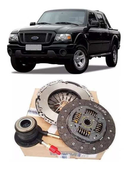 Kit Embreagem Ranger 2.8/3.0l Turbo Diesel Com Atuador