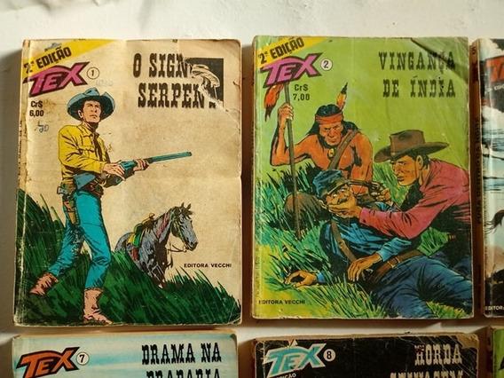 Tex 01 - 2ª Edição + 12 Revistas (leia O Anúncio)