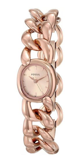 Relógio Fossil Rosé - Es3459 Novo Original Nf