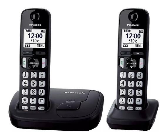 Panasonic Kx-tgd212ag Telefono Inalambrico Duo Dect 6.0