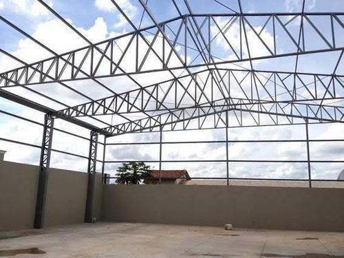 Imagem 1 de 10 de Telhado Estruturas Metálicas E Reformas
