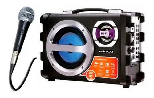 Parlante Portatil Winco W209 Bluetooth Usb Sd Karaoke Cuotas