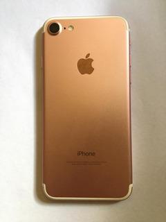 Carcaça iPhone 7 Rose C/flex Original Retirada