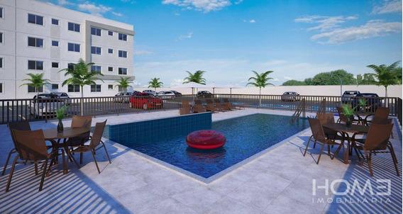 Apartamento Com 2 Dormitórios À Venda, 40 M² Por R$ 138.000 - Bela Vista - Itaboraí/rj - Ap1154