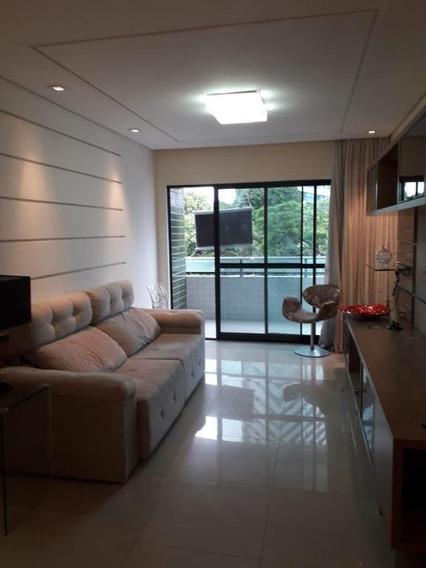 Apartamento Em Parnamirim, Recife/pe De 127m² 4 Quartos Para Locação R$ 4.200,00/mes - Ap389412