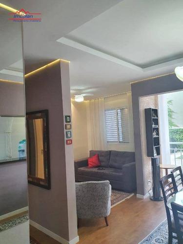 Apartamento À Venda No Jardim Floresta - Atibaia, R$550.000 - Ap0392