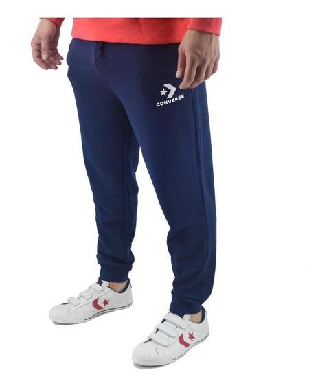 Pantalon Converse Hombre Star Chevron Azul