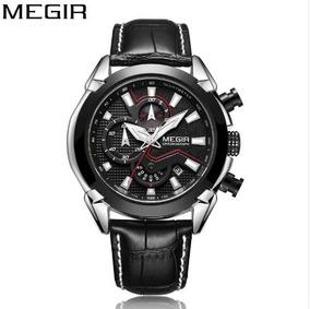 Relógio Masculino Original Social Presente Megir Barato
