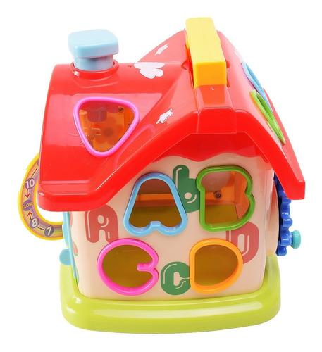 Casa Encastre Con Actividades Para Primera Infancia