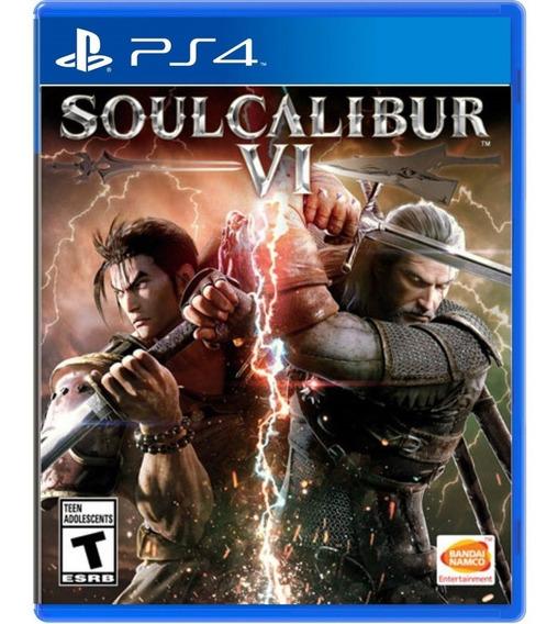 Jogo Soul Calibur 6 Vi Ps4 Midia Fisica Novo Dvd Original Br