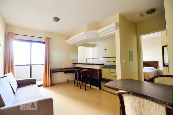 Apartamento No 4º Andar Mobiliado Com 1 Dormitório E 1 Garagem - Id: 892953972 - 253972