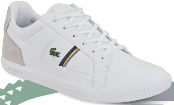 Tenis Lacoste Originales P/caballero Ck 62334 O19 Uy4