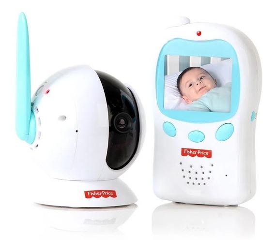 Babá Eletrônica Digital Baby View Com Câmera - Fisher Price
