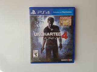 Juego Fisico Ps4 Uncharted 4: A Thief