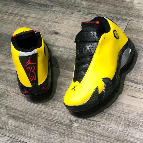Zapatillas Tenis Air Jordan 14 Retro Se Hombre Original