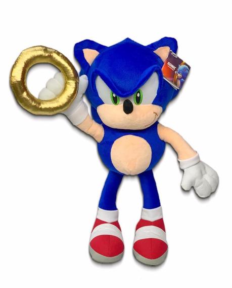 Peluche Sonic The Hedgehog Con Anillo Secreto