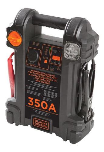 Auxiliar De Partida 12v Com Compressor 7ah 350a Black+decker