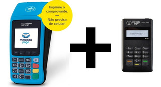 Maquinha Maquineta Point Pro Wi-fi Dados Móveis + Point Mini