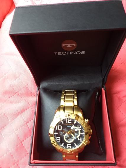 Relógio Technos Masculino Dourado Classic Legacy