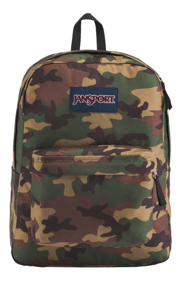 Jansport Mochila Superbreak Camuflada