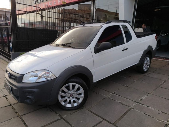 Fiat Strada Working Ce 2016 Branco Flex
