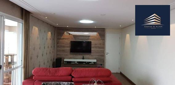 Apartamento Na Vila Augusta, 134m², 3 Suíte, 2 Vagas, Parque Clube Guarulhos. - Ap0685