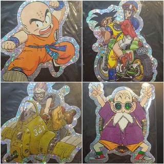 Set De Stickers Coleccion Dragon Ball X 24 Unidades