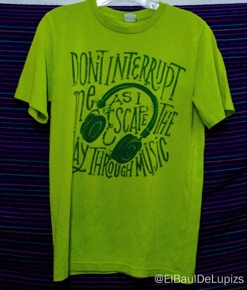 T-shirt Verde Casual