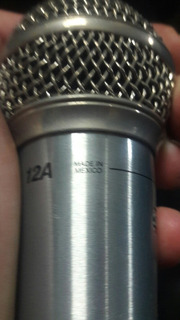 Micrófono Shure 12a Mexicano Original
