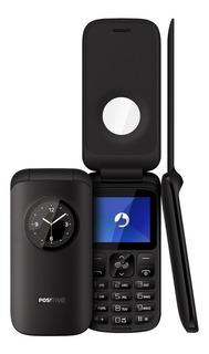 Telefone Simples Ideal Para Idosos Positivo P40 Fm E Câmera