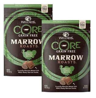 Wellness Core Marrow Roasts Natural Grain Free Dog Treats, 8