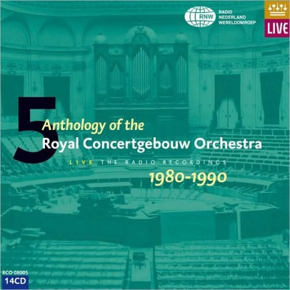 Royal Concertgebouw Orchestra Anthology 5 1980 1990 14 Cds