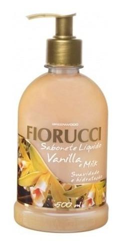 Imagem 1 de 1 de Sabonete Liquido Fiorucci 500 Ml Vanilla E Milk Pt 03 Un
