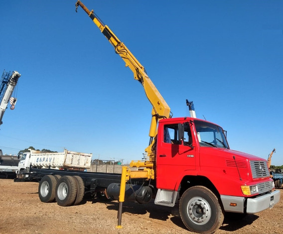 Caminhão Mb - Truck, Modelo 1418, Com Munck Madal - 1012