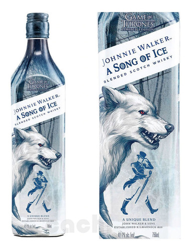 Whisky Johnnie Walker Game Of Thrones Song Of Ice 750ml