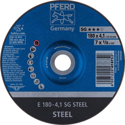 Disco Abrasivo De Desbaste Pferd Sg 7 X 5/32 Steel Caja