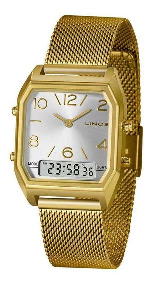 Relógio Lince Lagh118l-s2kx - Dourado